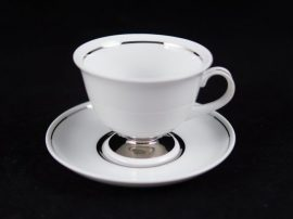 102 Tea Csésze +Alj 3003/PLATINA CSÍK