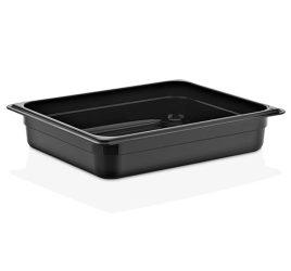 GN 1/2 65-ös edény, 3 l, polikarbonát fekete